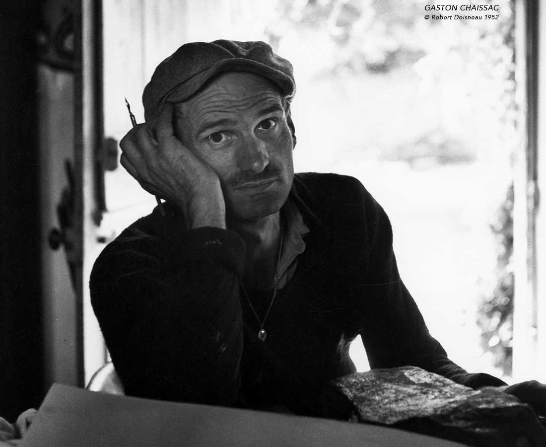 portrait-de-gaston-chaissac-en-1952-par-Robert-Doisneau